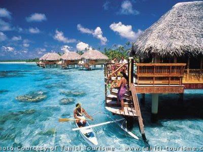6. Bora Bora, French Polynesia.