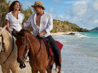 4. On Horseback.