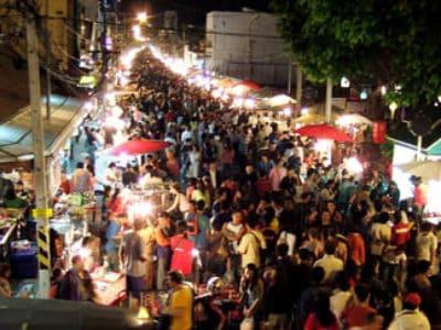 8. Chiang Mai Night Bazaar – Chiang Mai